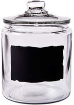 Anchor Hocking Heritage Hill Chalkboard Jar