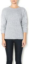 Endless Rose Silver Sparkly Sweater