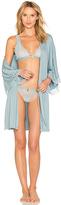 Eberjey Romina Kimono Robe in Blue. - size L (also in )