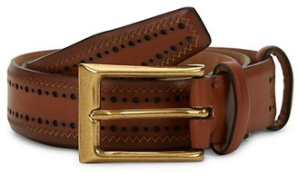 Cole Haan Perforated Slim Belt