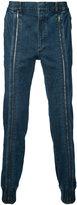 Juun.J zipped leg jeans