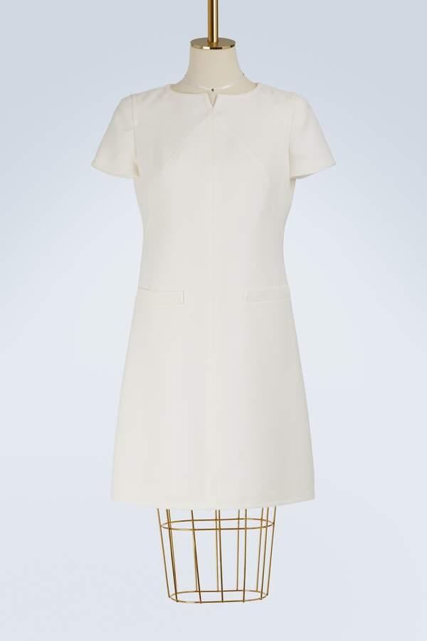 Courreges Wool mini dress