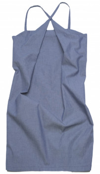 Format PLOT Blue Denim Dress - M - Blue