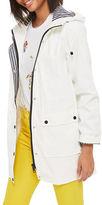 Topshop PETITE Maisie Longline Mac Coat