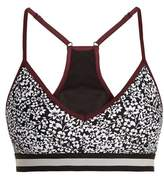 The Upside Andy Ditsy-print performance bra