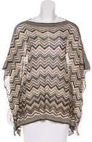 Calypso St. Barth Metallic Knit Blouse