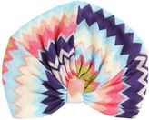 Missoni Zigzag Doubled Viscose Knitted Turban