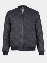 Burton Burton Brave Soul Grey Jersey Diamond Quilted Jacket*