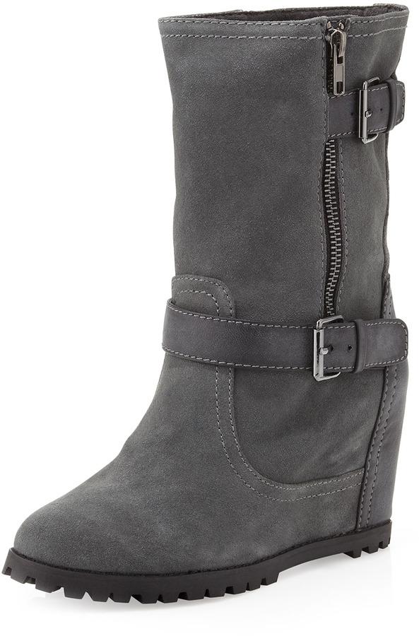Kelsi Dagger Vana Hidden Wedge Boot, Gray
