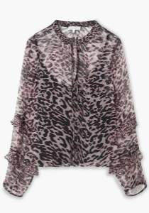 Lily & Lionel Cougar Rina Top - xsmall - Black/Brown