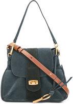 Chloé Lexa Small cross-body bag - women - Cotton/Lamb Nubuck Leather - One Size
