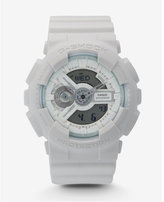 Express g-shock extra large white watch
