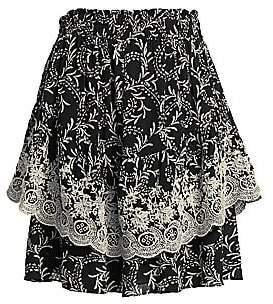 Joie Women's Baylee Printed Skirt