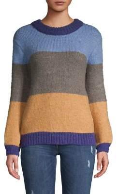 Hudson York & Ribbed Striped Sweater