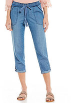 Jolt Chambray Rolled Cuff Pants