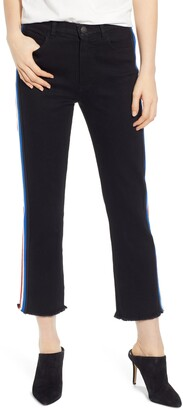 Pam And Gela Stripe Crop Jeans