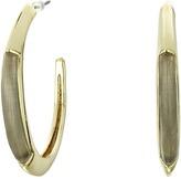 Alexis Bittar Crescent Hoop Earrings