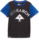 Lrg Black & Blue 'Research' Crewneck Tee - Boys