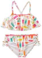 Kate Spade Girls' Ice Pop 2-Piece Swimsuit - Big Kid