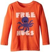 Life is Good Octopus Hugs Long Sleeve Tee (Toddler)