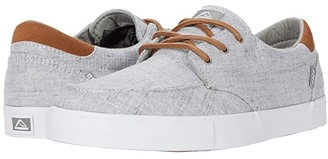 Reef Deckhand 3 TX (Grey/Chambray) Men's Lace up casual Shoes