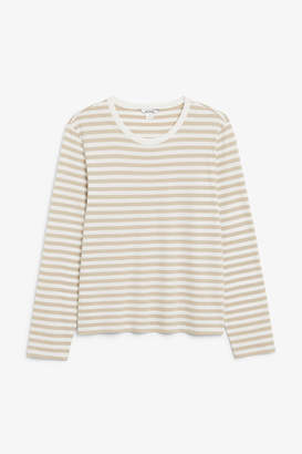 Monki Soft long-sleeved top