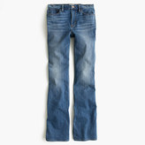 J.Crew Petite flare jean in Parkmount wash