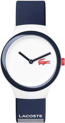 Lacoste Unisex Goa 2020122 Navy and Red Watch