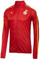 Puma Pua Ghana Walk Out Jacket Red World Cup 2014