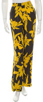 Dries Van Noten Silk Wide-Leg Pants