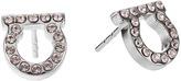 Salvatore Ferragamo Or Face Mini Earrings Earring