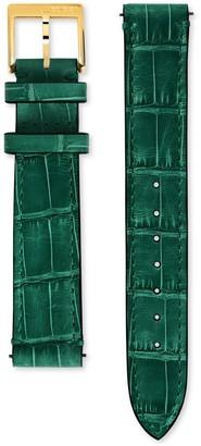 Gucci Grip alligator watch strap, 35mm