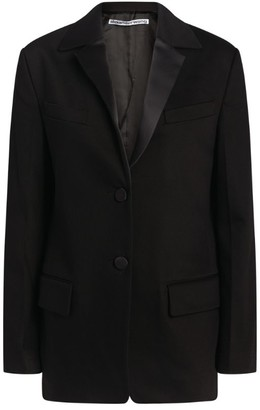 Alexander Wang Single-Breasted Tuxedo Blazer