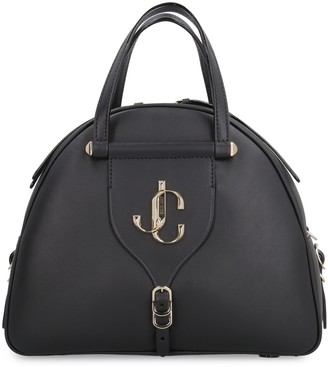 Jimmy Choo Varenne Bowling Leather Bag