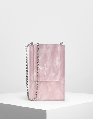 Charles & Keith Resin Clutch
