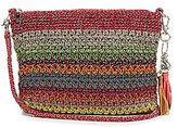 The Sak Shasta Tasseled Striped Crochet Convertible Demi Cross-Body Bag