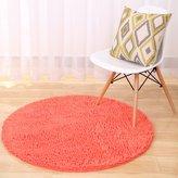 YHTYGUU Washable Micro Fiber chenille rug/ circular carpet/Anti-slip computer pad/blanket for bedroom / Yoga carpet