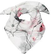 Thomas Wylde Silk Floral Print Scarf w/ Tags