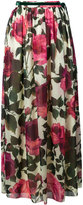 Blugirl floral print pleated skirt