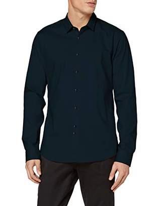 Scotch & Soda Men's Slim Fit-Classic Cotton/elastan Shirt Casual,XX-Large