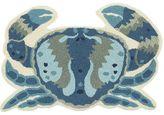 Pier 1 Imports Blue Crab Blue 2x3 Rug
