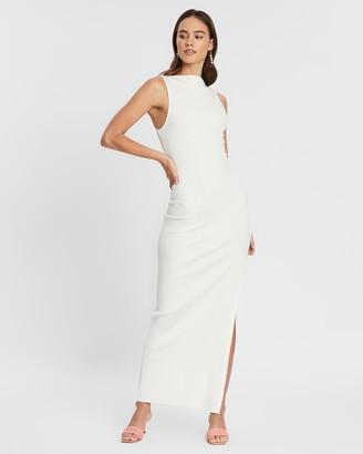 Bec & Bridge Noir Et Blanc Midi Dress