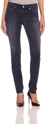 Meltin Pot Women's Slim Jeans - Blue - Bleu (Denim Blue) - 25W/32L