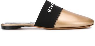 Givenchy Logo Flat Mules