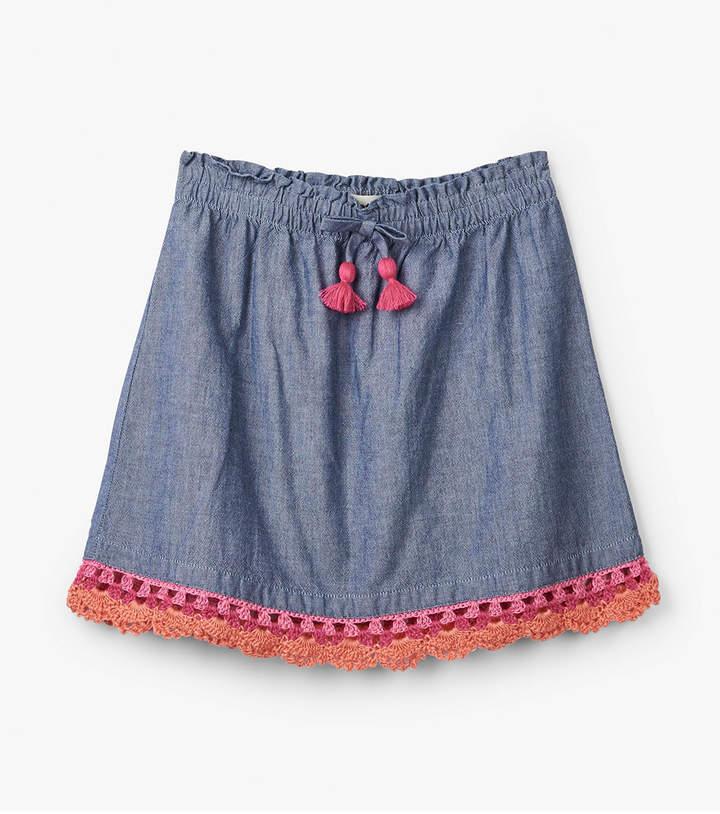 Hatley Chambray Skirt