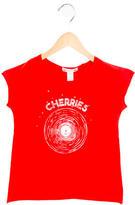 Bonpoint Girls' Record Print T-Shirt