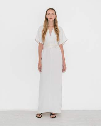 Le Merceau White Tunic Dress