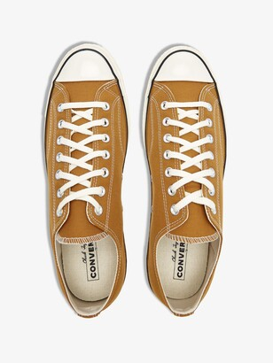 Converse Neutrals Brown Chuck 70 Low Top Sneakers