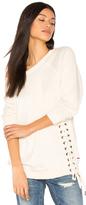 n:PHILANTHROPY Mika Lace Up Sweatshirt