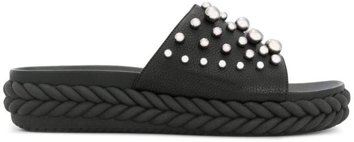 Baldinini studded open-toe sandals